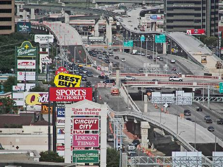 Auto-dependent cities